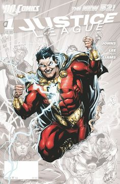 Gary Frank - Shazam in Justice League