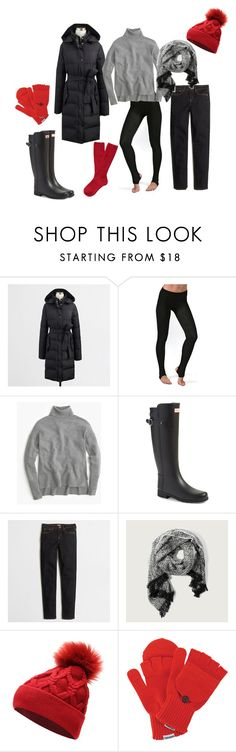 """Black Friday"" by alwaysreadyforsummer ❤ liked on Polyvore featuring Plush, J.Crew, Hunter, Abercrombie & Fitch, Converse and plus size clothing"