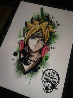Desenho de estudo de ontem! Logo menos vai pra pele, to na pegada de estudar mais trampos relacionados a animes e games! #rataria #drawing #naruto #ipadpro naruto, desenho, tattoo, drawing, ipadpro, anime, mangá