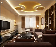 17 Amazing Pop Ceiling Design For Living Room False ceiling