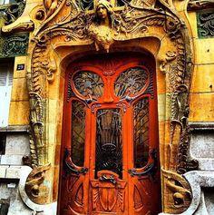 Over the top fabulous! The door has eyes...