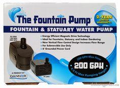 Danner The Fountain Pump 200GPH