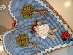 Kinderaccessoires - Umhängetäschchen in Lebkuchenform - ein Designerstück von kleinerSonnenstrahl bei DaWanda