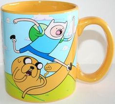 Adventure Time 20-oz Coffee Mug Finn & Jake
