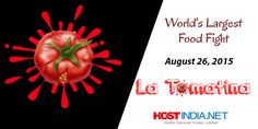 Don't keep calm because it's the world's largest food fight. #Latomatina