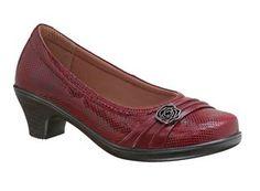 Orthopedic Heel | Orthofeet Maya | HealthyFeetStore.com Red High Heels, High Heel Pumps, Womens High Heels, Pumps Heels, Low Heels, Plantar Fasciitis Shoes, Thick Heel Boots, Comfortable High Heels, Unique Heels