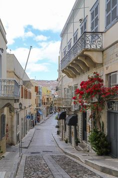 Syros island, the hidden beauty of the Cyclades Syros Greece, Mykonos Greece, Athens Greece, Pastel House, Greece Islands, Crystal Clear Water, Travel Bugs, Travel Aesthetic, Greece Travel