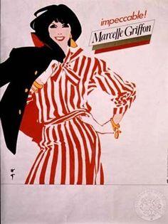 Les Arts Décoratifs - Site officiel - Gruau (1910-2004) - Marcelle Griffon, René Gruau, 1986