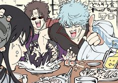 Watch anime online in English. Otaku Anime, Anime Guys, Manga Anime, Anime Art, Action Comedy Anime, Samurai, Gintama Funny, Okikagu, Anime Characters
