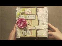 """Fotoalbum """"Sweet Paris"""" Paris, Decorative Boxes, Scrap, Mini, Boyfriend Crafts, Love Girlfriend, Photograph Album, Montmartre Paris, Paris France"""