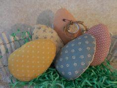 Primitive Easter Egg Bowl Fillers by auntiemeowsprims
