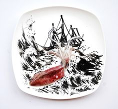Fun and Creative Food Art by Hong Yi
