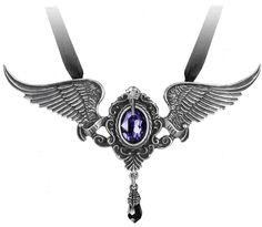 My Soul from the Shadow Necklace, Alchemy Gothic, Infectious Threads (infectiousthreads.com)