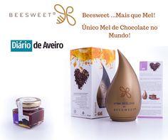 Diário de Aveiro destaca lançamento de mel Nº 66 Beelove by Beesweet - único mel de chocolate no MUNDO! - Beesweet