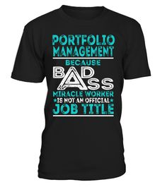 Portfolio Management - Badass Miracle Worker
