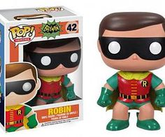 BATMAN ROBIN 1966 POP VINYL FIGURE