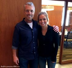 Celebrity trainer, Gunnar Peterson and Sarah from the Real Housewives of Minnesota! Exclusive interview with some awesome fitness and health tips. #fitness #shop