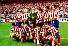 EQUIPOS DE FÚTBOL: ATLÉTICO DE MADRID contra Real Madrid 11/12/1977