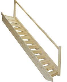 Pine Openplan Staircase