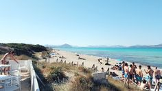 Chillen im Beachclub Can Gavella