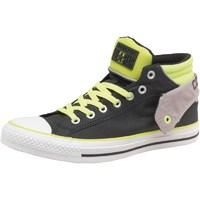 Converse Mens CT All Star Padded Collar Layer Mid Black/Yellow