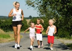Tips for healthy training for when your kids want to run