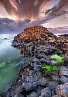 Giant's Causeway, UK. World Heritage