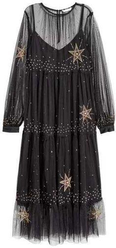 H&M Sheer Mesh Dress