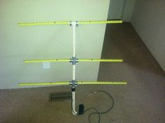 Picture of The Tape Measure 2M HAM Yagi Antenna