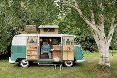 fancy camper van