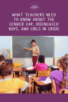 What teachers need to know about the gender gap, disengaged boys, and girls in crisis Classroom Routines, Classroom Management Strategies, Classroom Procedures, Building Classroom Community, Teacher Inspiration, New Teachers, Teaching Tips, Teacher Resources, Need To Know