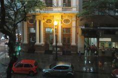 CONEXÃO BOMBEIRO : Após calor intenso, dia vira noite etemporal chega...