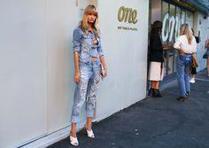 #StreetStyle  #FashionWeek  #AustraliaFashionWeek  Annabella Barber