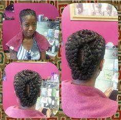Elegant Goddess Braids | African Goddess Braids African Braids Miami Miami