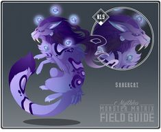 Monster Matrix Field Guide 2018 - 019 - Monster: Sabercat Theme: SciFi Caretaker: a gift for Ulario -------------------. Mythical Creatures Art, Mythological Creatures, Fantasy Creatures, Fantasy Monster, Monster Art, Big Cats Art, Cat Art, Fantasy Dragon, Fantasy Art
