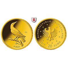 Bundesrepublik Deutschland, 20 Euro 2017, nach unserer Wahl, D-J, 3,89 g fein, st: 20 Euro 3,89 g fein, 2017 nach unserer Wahl, D-J.… #coins