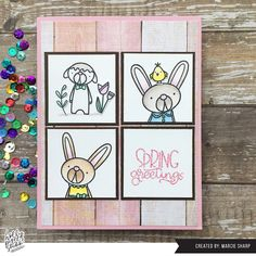 Sharp Designs: Holly Pixels Studio Nursery Design, Woodland Nursery, Copic Markers, My Stamp, Pink Glitter, Cute Pink, I Card, Card Stock, Concept