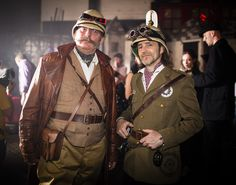 Shot At Clockwork Underworld - A steampunk event, part of the Make Believe Festival, London, May 2013 Steampunk Men, Steampunk Costume, Steampunk Clothing, Steampunk Fashion, Victorian Style Clothing, Safari, Victorian Costume, Cool Costumes, Costume Ideas
