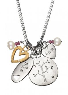 Family Tree Personalised Necklace | Chambers & Beau | Personalised Jewellery