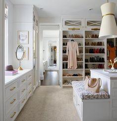 Master Closet Design, Walk In Closet Design, Master Bedroom Closet, Closet Designs, Creative Closets, Closet Vanity, Dressing Room Closet, Closet Remodel, Luxury Closet