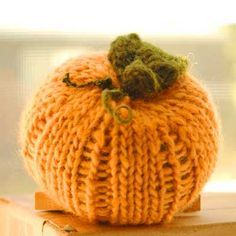 www.c u r l y p u r l y.com free pumpkin pattern  Try it and learn how to knit with dpn?