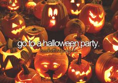 go to a halloween party