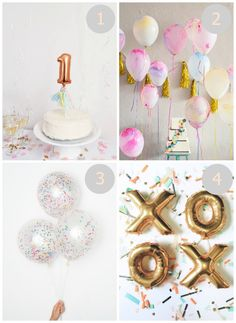 Trendy and modern balloons that will make any party or event decor unforgettable.