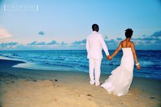 pink & turquoise wedding gaze