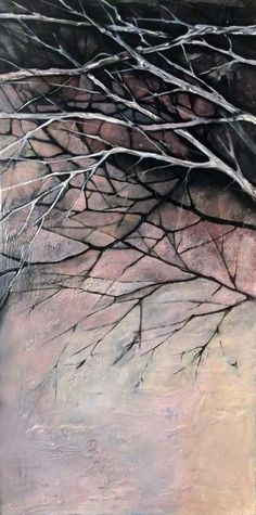 ARTFINDER: Winter day by Marjan Fahimi - Oil on wood - 100x50 cm
