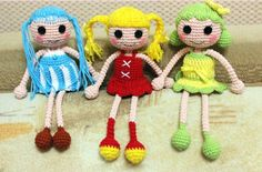 Lalaloopsy doll amigurumi pattern free