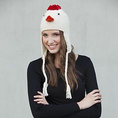 20 Best Knitted hats for chickens and humans images in 2014