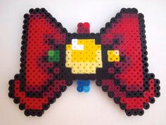 "Sailor Moon Crystal ""Moon Prism"" Bow perler beads by CorsPlasticSmores"