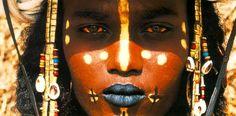 Tuareg Art | Woman Bathing (Turkey)