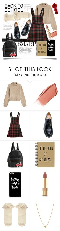 """""""Preppy Uniform"""" by ifip on Polyvore featuring Rejina Pyo, Hourglass Cosmetics, Church's, Caso, Dolce&Gabbana, Monsoon, Zoë Chicco and Gucci"""